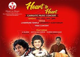 Free Carnatic Concert with Mandolin U Rajesh