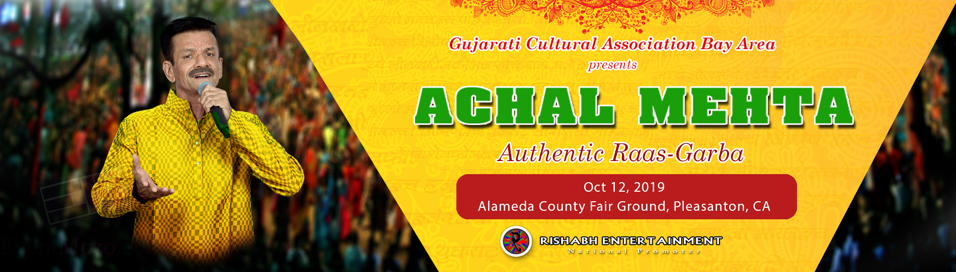 Achal Mehta Authentic Raas Garba 2019