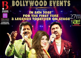 Throwback 90's With Udit Narayan,Alka Yagnik and Kumar Sanu Live In Bay Area