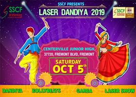SSCF - Sri Shankara Cancer Foundation USA - Laser Dandia