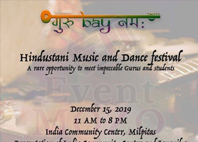 Guru Bay Namah - Hindustani music and dance festival
