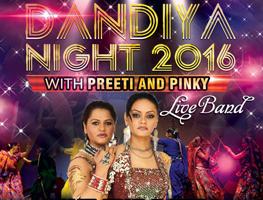 Dandiya for a cause with Preeti & Pinky