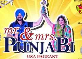 Mr and Mrs Punjabi USA peagent