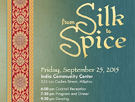 2015 Annual Fundraising Banquet by India Community Center in Milpitas