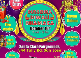 Dussehra Diwali Dhamaka with Fireworks - Free Entry
