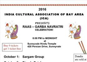 ICA - Navratri 2016 - Dimple Patel& Rekha Trivedi