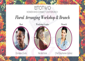 Floral Arranging Workshop & Brunch (Women Only)