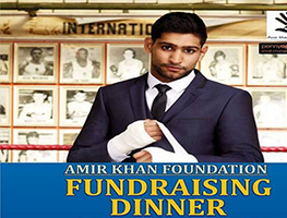 EventMozo Amir Khan Foundation Fund Raising Dinner