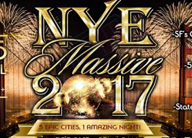 eventmozo NYE Massive 2017 in San Francisco