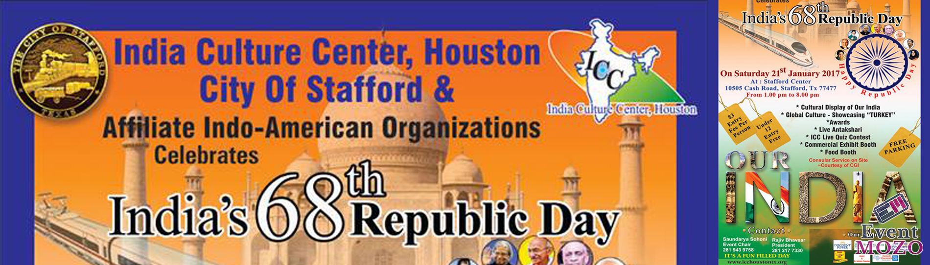 EventMozo India's 68th Republic Day