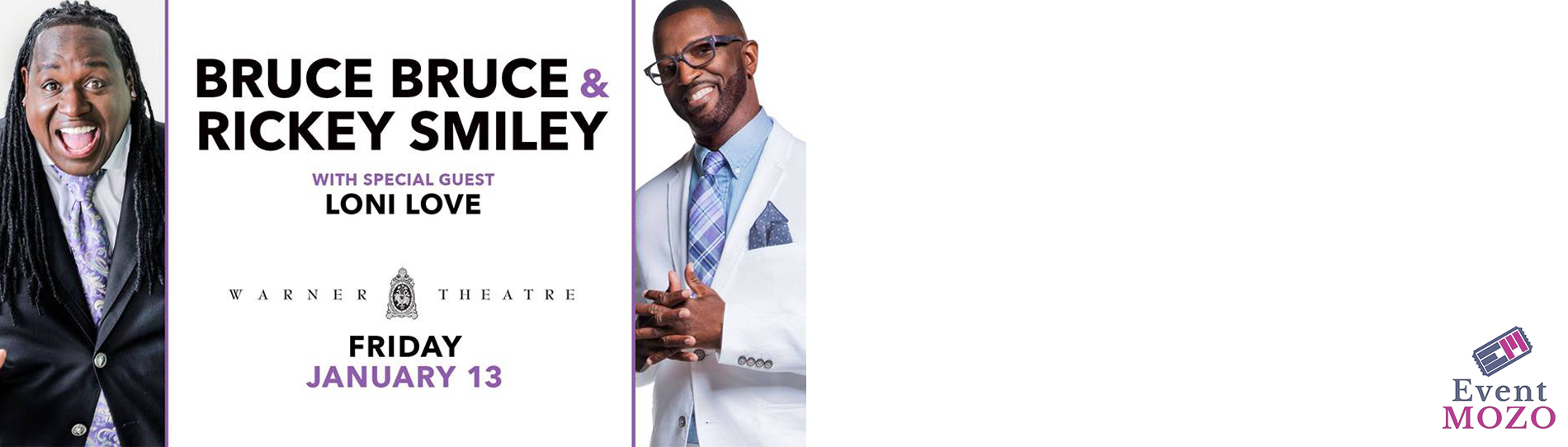 EventMozo Bruce Bruce & Rickey Smiley