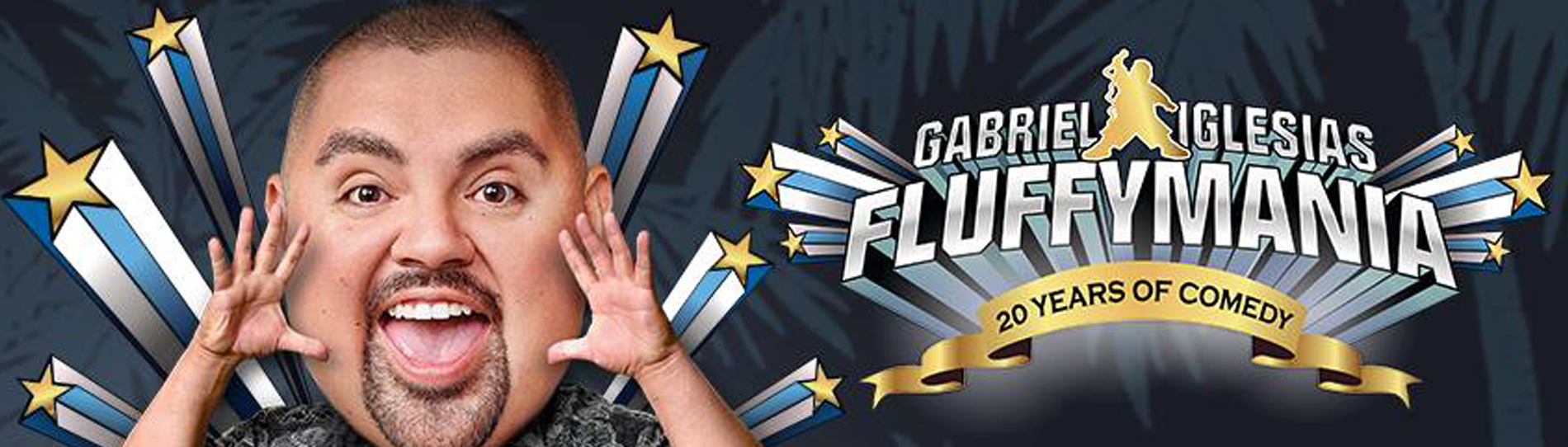 EventMozo Gabriel Iglesias — FluffyMania World Tour: 20 Years of Comedy