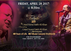 creationsbox Usthad Rahat Fateh Ali khan concert in IL