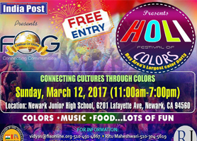 EventMozo FOG Holi - Free Entry