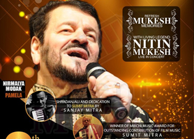 Nitin Mukesh Live in Concert - Bay Area