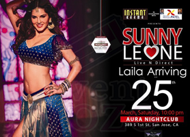HOLI With SUNNY LEONE: A Bollywood Party Affair