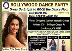 eventmozo Women's Day Bollywood Dance Party (ZuBoJam)