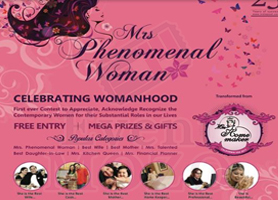eventmozo Mrs. Phenomenal 2017 - Free Entry