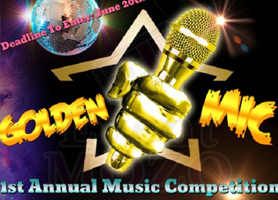 eventmozo Golden Mic 1st Annual Music Competition