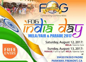 Free Entry - 25th FOG INDIA DAY Mela and Parade
