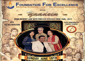 Yaadein - Down memory lane with timeless classics from 1940 - 2017