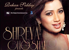 EventMozo Shreya Ghoshal Live Concert in Houston