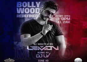 eventmozo Bollywood Redefined with DJ Lemon in Los Ange...