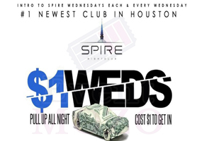 EventMozo SPIRE WEDNESDAYS c/o BIGSHOT PROMOTIONS