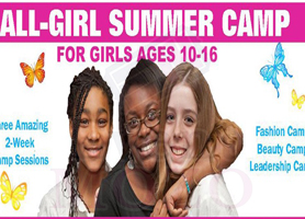 eventmozo ALL-GIRL Summer Super Camp