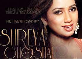 Shreya Ghoshal Live In Concert with Grand Symphony - Bay Area