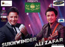 Sukhwinder and Ali Zafar Live in Concert, Bay Area