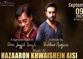 Shekhar Ravjiani's Tribute to Jagjit Singh in Bay Area: Hazaaron Khwaishein Aisi