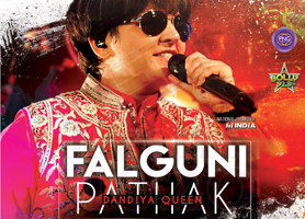 creationsbox Falguni Pathak Live Concert in Bay Area