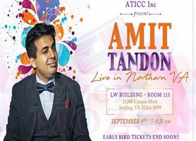 EventMozo Amit Tandon Live in Virginia