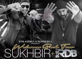 eventmozo Sukhbir + Surj RDB LIVE - Welcome Back Tour L...