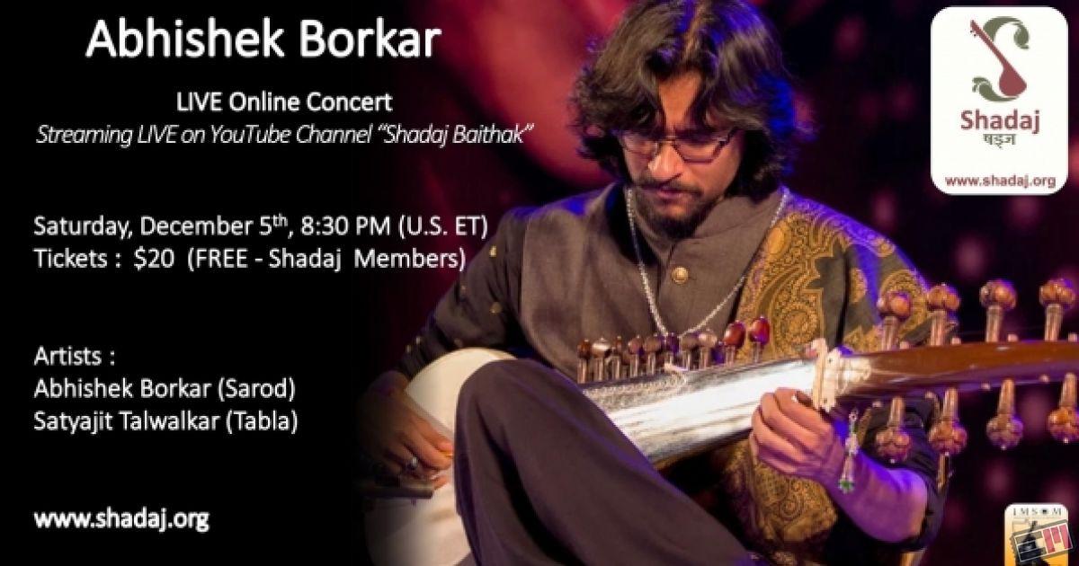 Abhishek Borkar - Live Online Concert
