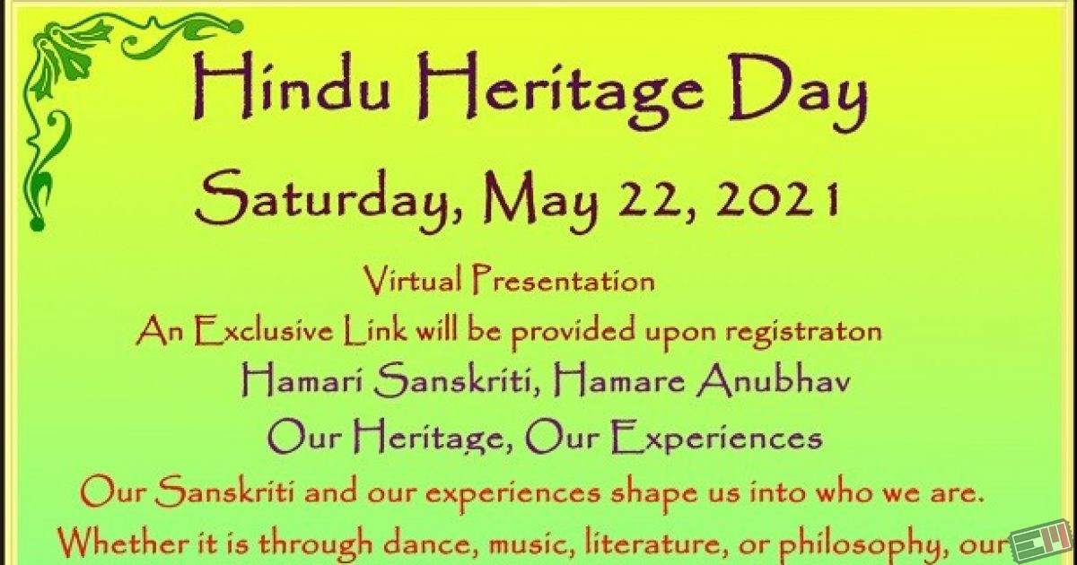 Hindu Heritage Day 2021