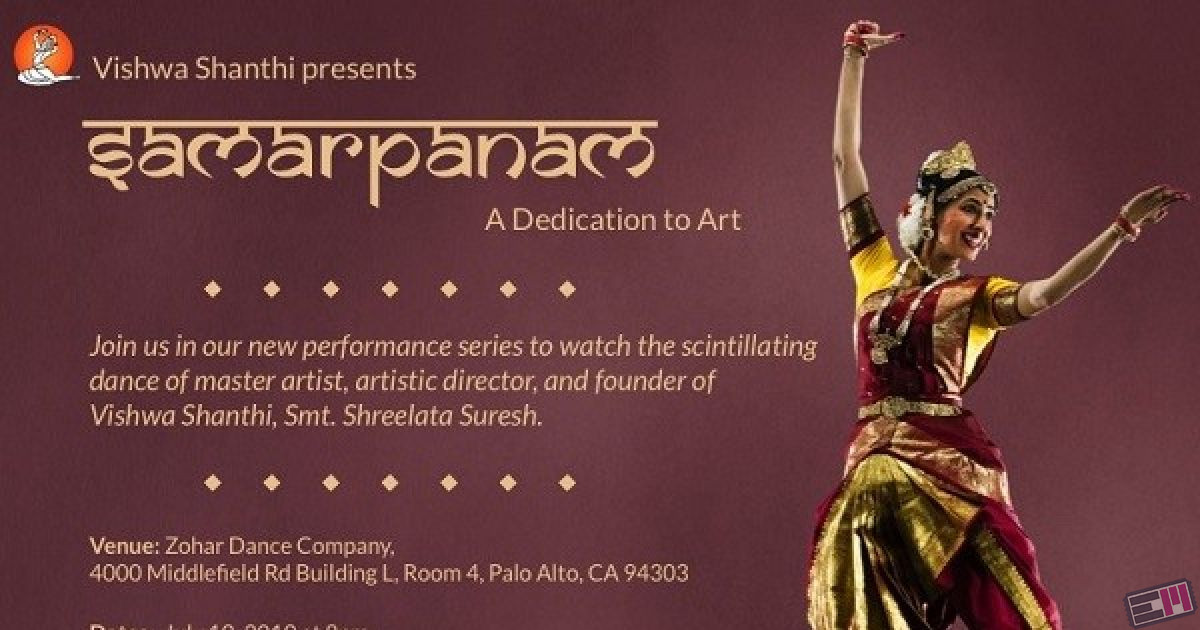 Samarpanam - A Dedication to Art