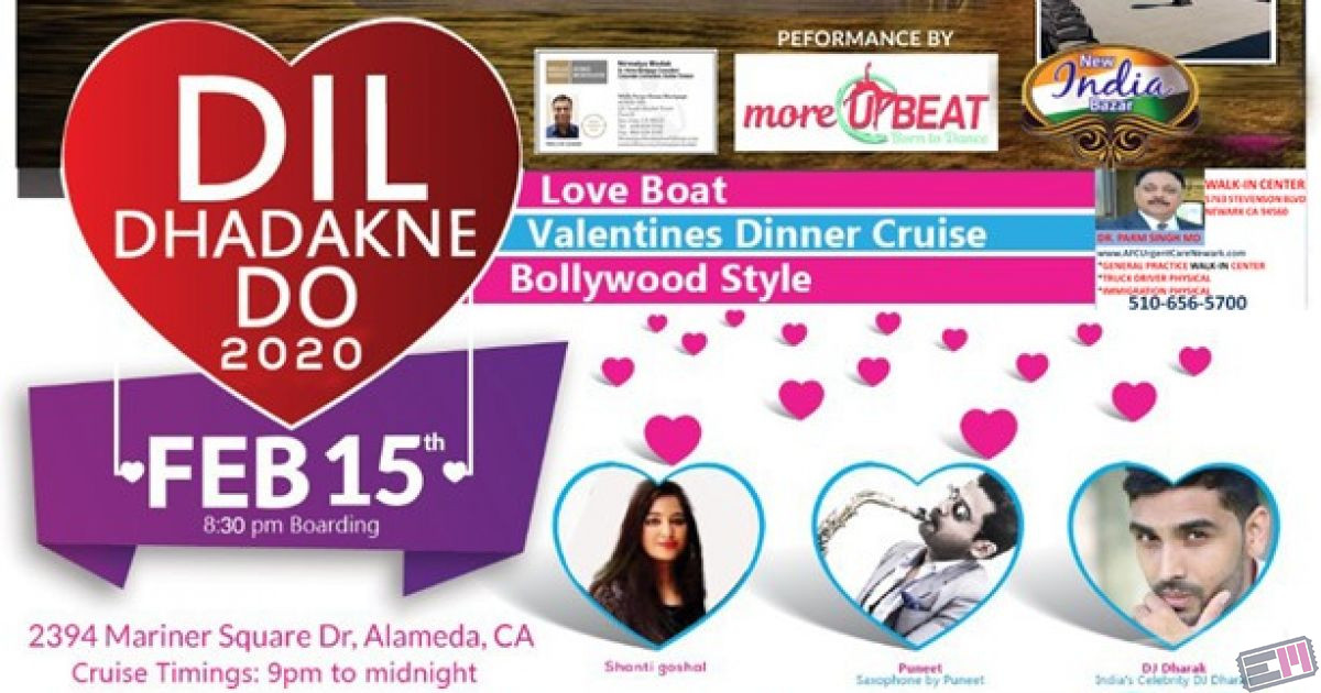 Dil Dhadakne Do - San Francisco Love Boat Valentines Cruise Bollywood Styl