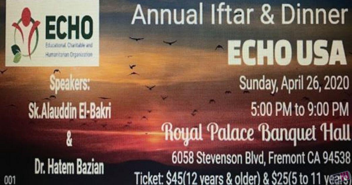 2020 Annual Iftar & Dinner