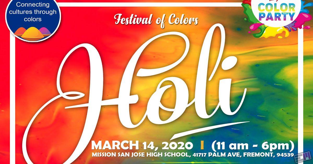 Festival of Colors HOLI 2020