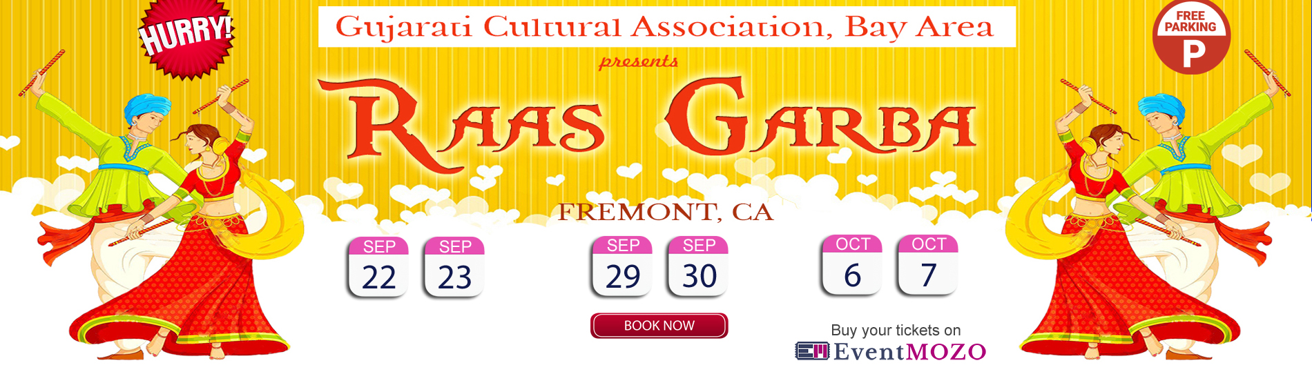 EventMozo GCA Garba Events